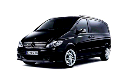 Mercedes Vito - microbus for 8+1 passengers